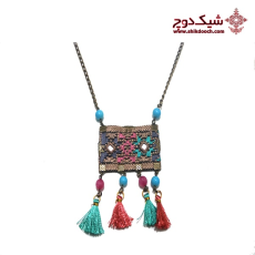 رو مانتویی - Needlework Necklace