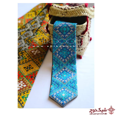 Needlework Tie - Embroidered Tie