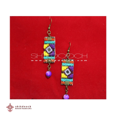 Embroidered Jewelry Earrings - Embroidered Jewelry Earrings