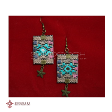 Needlework Earrings - Needlework Earrings